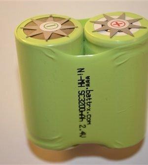 Pair NiMH No Solder Sub C Upgrade Cells