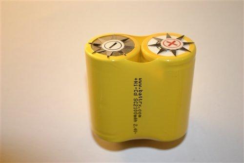 Pair NiCad No Solder Sub C Repair Cells