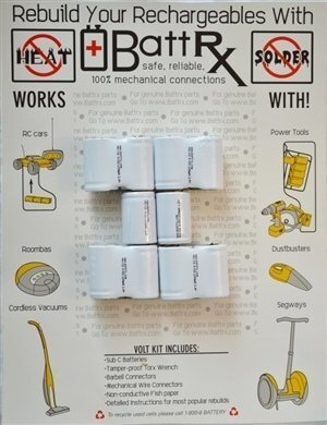 Black & Decker 12V NiCad Battery Repair Kit