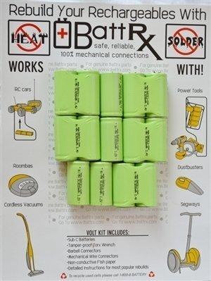 Bosch 16.8V NiMH Rechargeable Battery Upgrade Kit