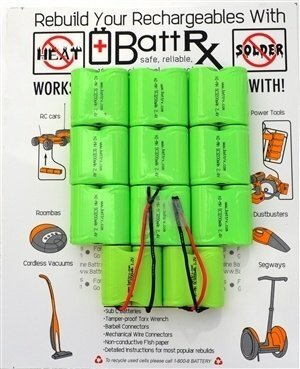 Bosch 24V NiMH Rechargeable Battery Upgrade Kit