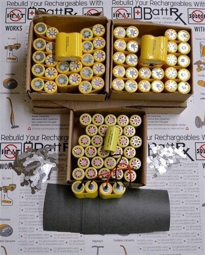 Battrx Contractor Packs - Rebuild Ten 18V NiCad Battery Packs