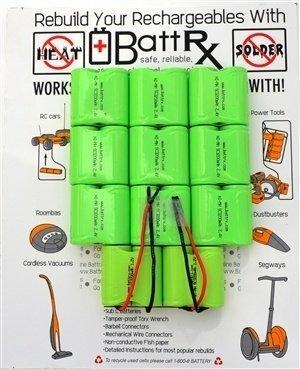 DeWalt 24V NiMH Rechargeable Battery Upgrade Kit