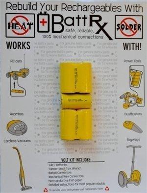 DeWalt 6V NiCad Rechargeable Battery Rebuild Kit