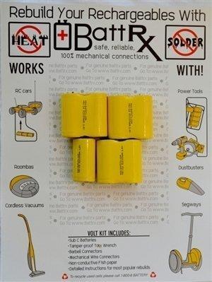 DeWalt 8.4V NiCad Rechargeable Battery Rebuild Kit