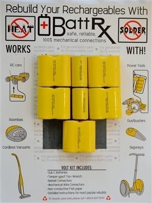 Discontinued DeWalt 14.4V NiCad Rechargeable Battery Rebuild Kit