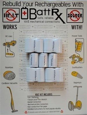 Hilti 13.2V NiCad Battery Repair Kit