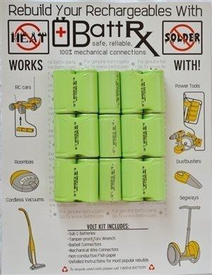 Ridgid 18V NiMh Battery Upgrade Kit