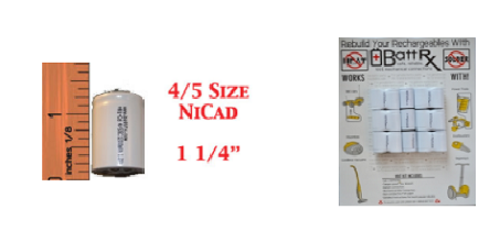NICAD Battery Rebuild KIT