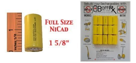 Full size NiCAD Battery Rebuild
