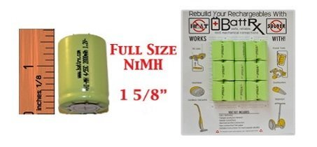 Full Size NIMH Battery Rebuild Kit