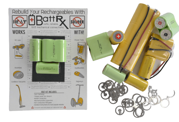 NiMH Battery Rebuild Kits